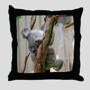 Koala6 HIRES Throw Pillow