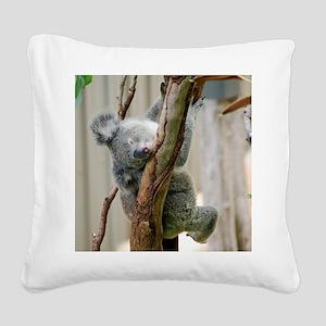 Koala6 HIRES Square Canvas Pillow