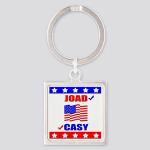 joad_casy_light Square Keychain