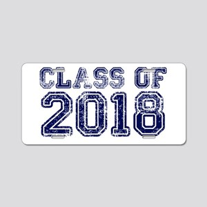 Class of 2018 Aluminum License Plate