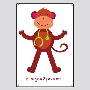 Monkey Medical Professional Banner