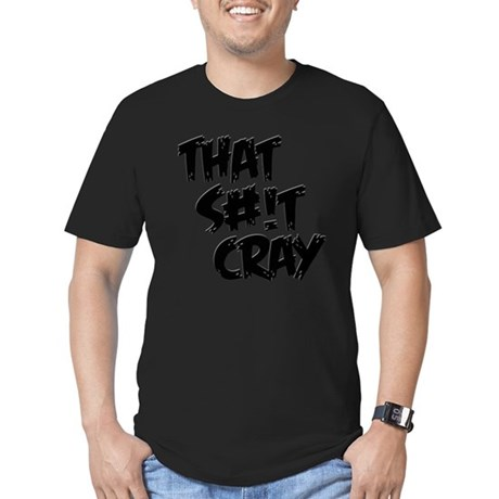 cray Men's Fitted T-Shirt (dark)