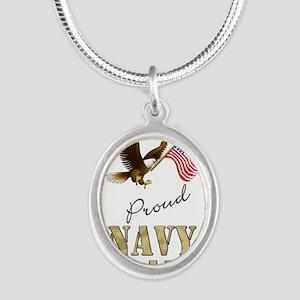 Proud Navy Dad Necklaces