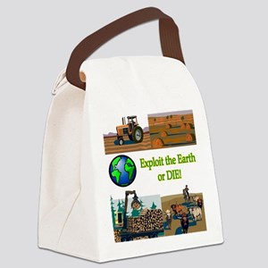 exploitordie Canvas Lunch Bag