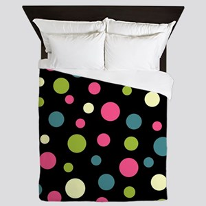 Twin Polka BlaPink Queen Duvet