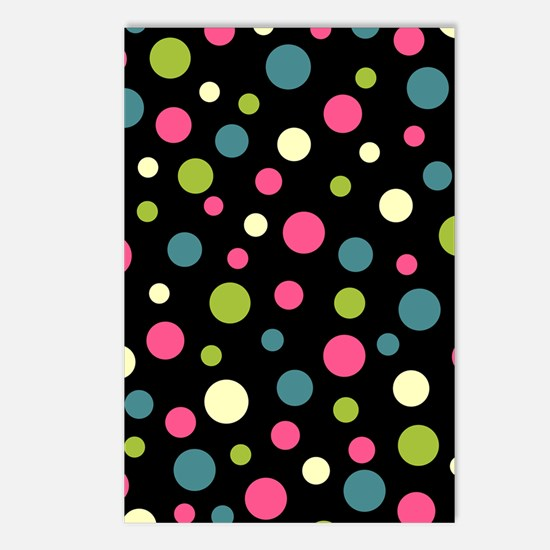 Twin Polka BlaPink Postcards (Package of 8)