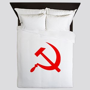 Sickle and Hammer Red Queen Duvet
