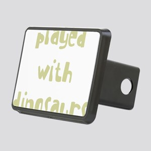 playedwithdinosaurs_new_bl Rectangular Hitch Cover