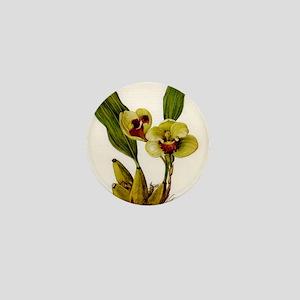 orchid Mini Button