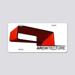 Architecture Aluminum License Plate