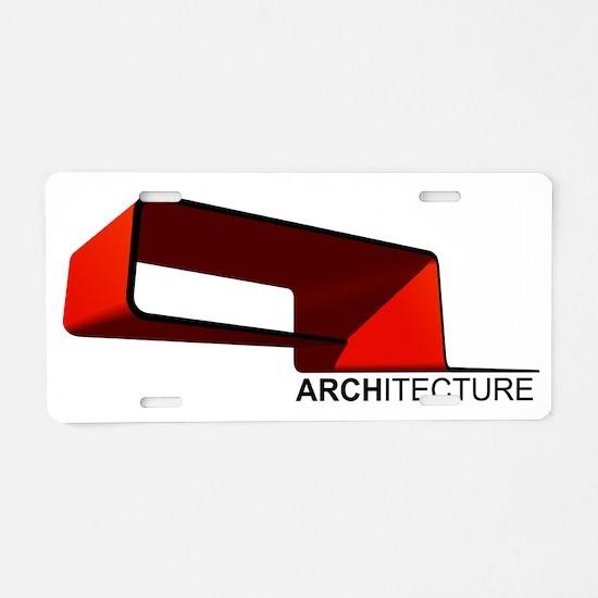 Architecture Aluminum License Plate