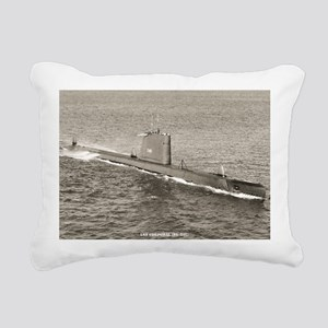 corporal large framed pr Rectangular Canvas Pillow