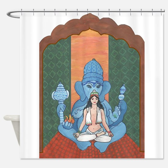 Role Reversal Shower Curtain
