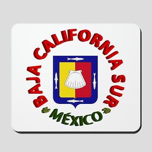 Baja California Sur Mousepad