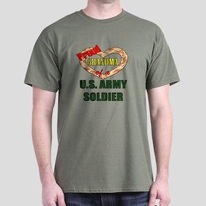 Proud Army Grandma Dark T-Shirt