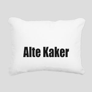 Alte Kaker Rectangular Canvas Pillow