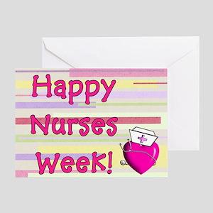Happy Nurses week PINK NEW Greeting Card