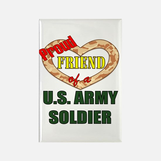Proud Army Friend Rectangle Magnet