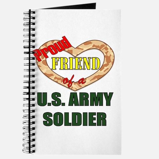 Proud Army Friend Journal