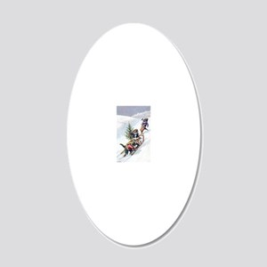 Thiele Cat 17 20x12 Oval Wall Decal