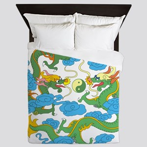 tai45dark Queen Duvet