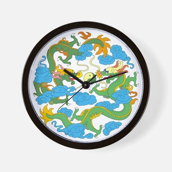 tai45dark Wall Clock