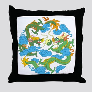 tai45dark Throw Pillow
