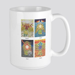 Four Archangels Large Mug