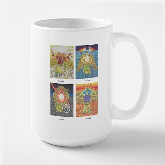 Four Archangels Large Mug