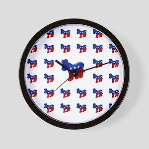 dem_shower_1 Wall Clock