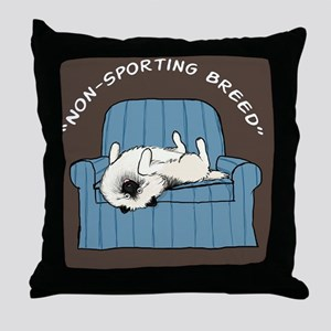 nonsportingskin Throw Pillow