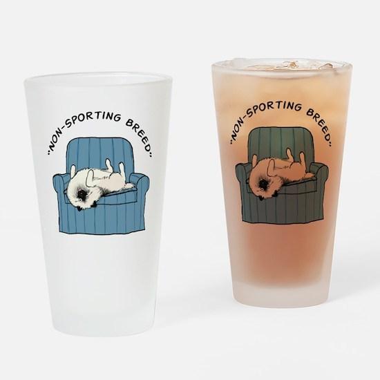 nonsportingdrk2 Drinking Glass