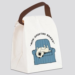 nonsportingdrk2 Canvas Lunch Bag