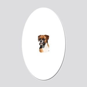 Boxer 9Y554D-123 20x12 Oval Wall Decal