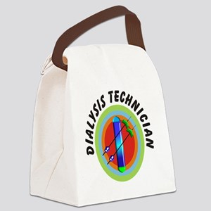 dialysis tech emblem Canvas Lunch Bag