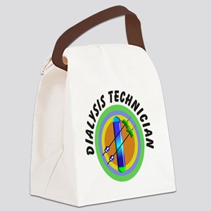 dialysis tech 2 emblem Canvas Lunch Bag