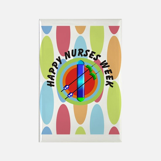 dialysis Happy nurses week CP BIG Rectangle Magnet