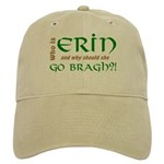 Confused About Erin Go Bragh Cap in Khaki or White