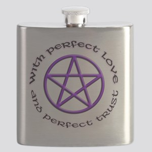 perfect love and perfect trust Flask