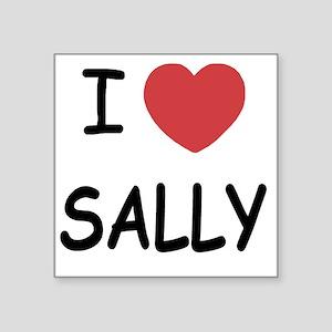 "SALLY Square Sticker 3"" x 3"""