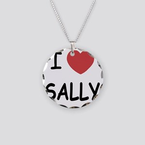SALLY Necklace Circle Charm