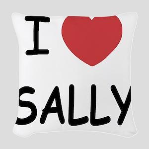 SALLY Woven Throw Pillow