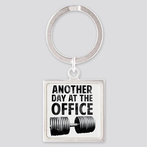 another-day-in-the-office Square Keychain