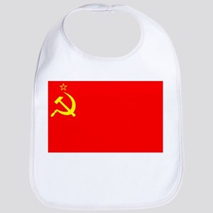 Russian Flag mine Baby Bib