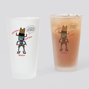 Gender Outlaw Drinking Glass