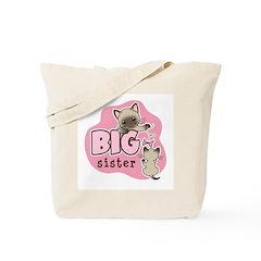 Big Sister - Kitty Tote Bag