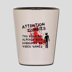 attention Shot Glass