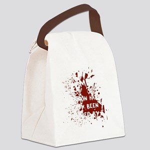 attention wh Canvas Lunch Bag