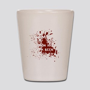 attention wh Shot Glass