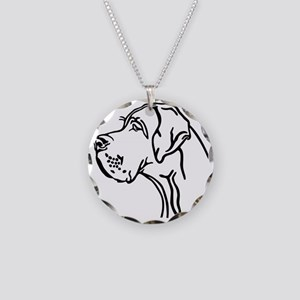 Daneportrait Necklace Circle Charm